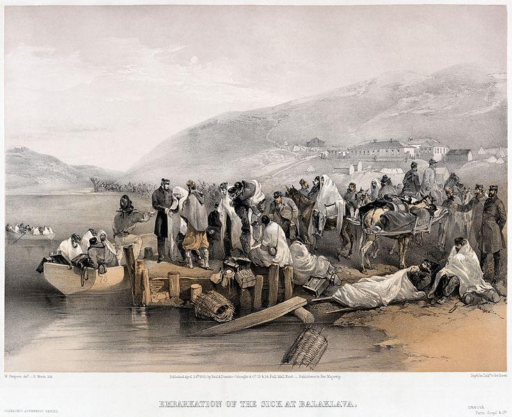 Illustration of the Crimean War
