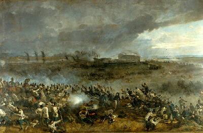 Illustration of the Battle of Solferino