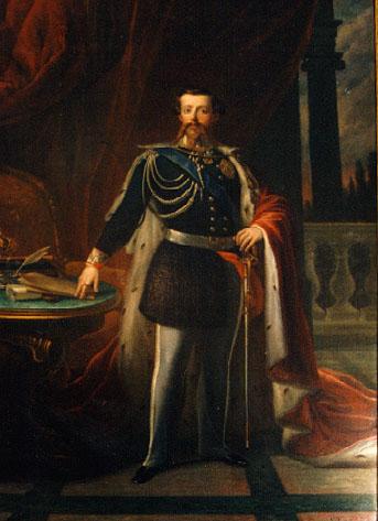 Portrait of Vittorio Emanuele