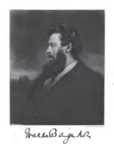 Portrait of Walter Bagehot