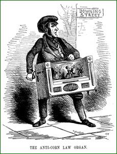 Punch cartoon of Cobden