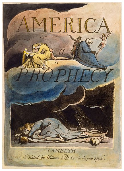 Title Page of Blake's _America_