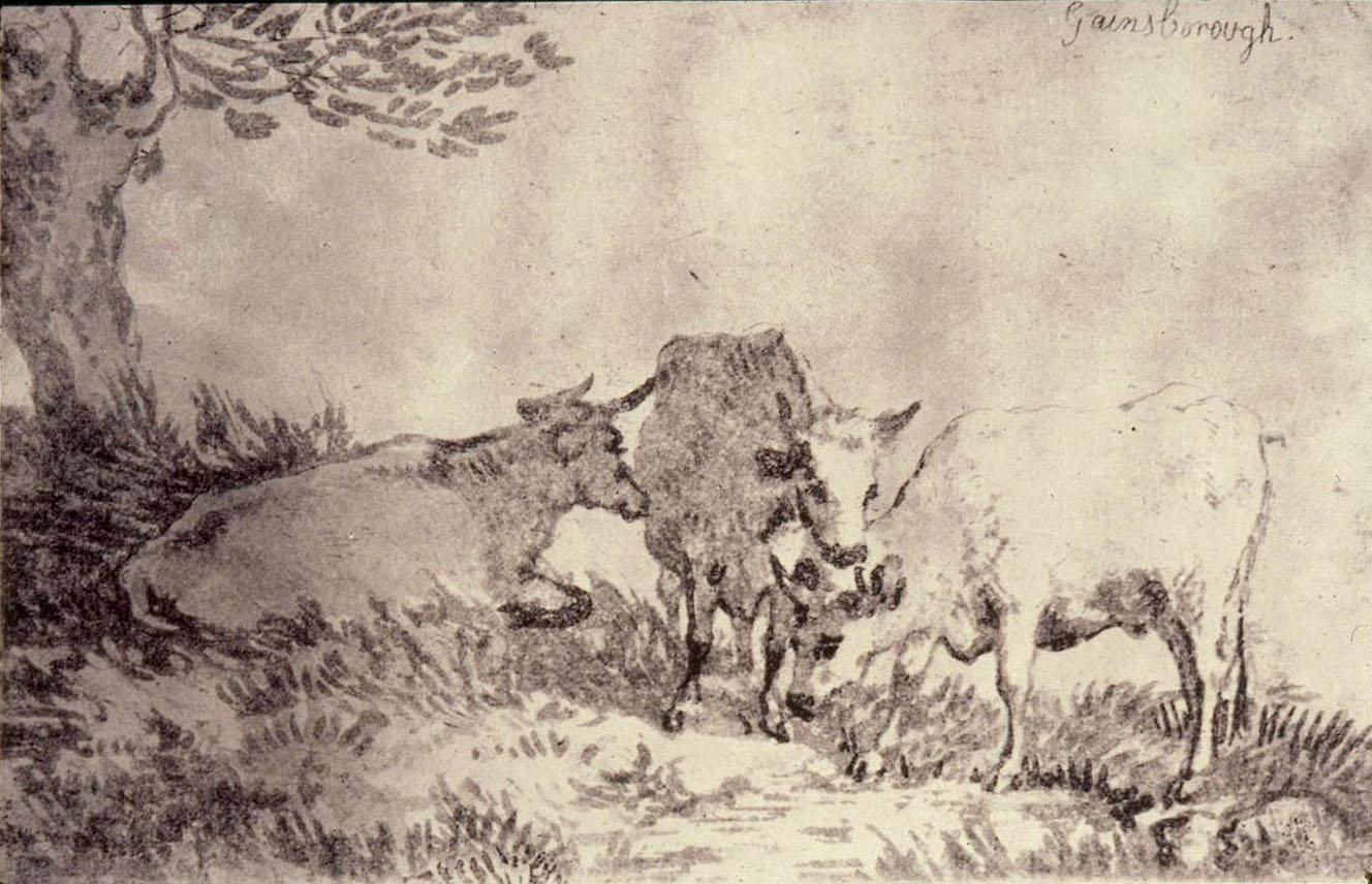 Gainsborough's Three Cows