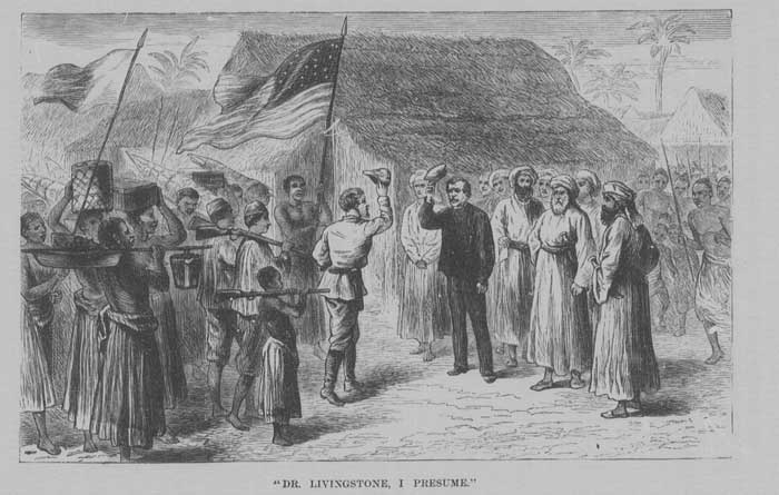Meeting of Stanley and Livingstone