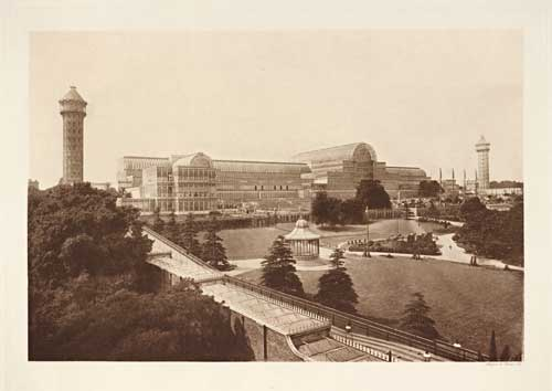 View of the Crystal Palace