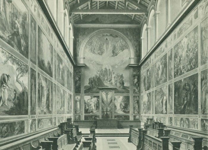 Interior, Chapel of the Ascension