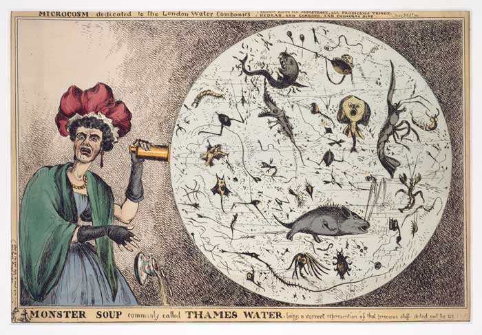 Cartoon of Thames water