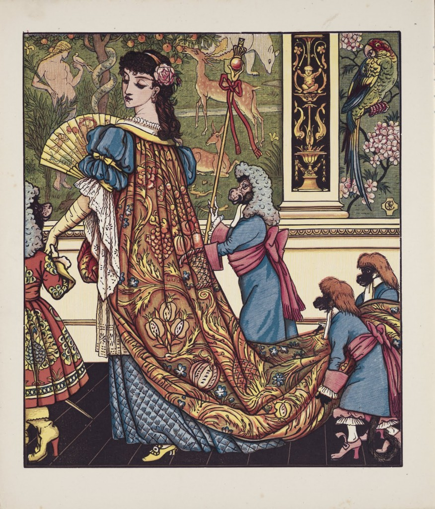 illustration to Beauty and the Beast