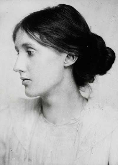 portrait of Woolf