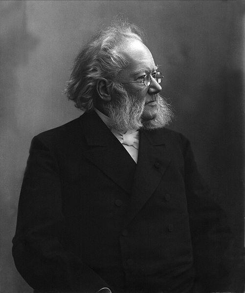 Photo of Henrik Ibsen