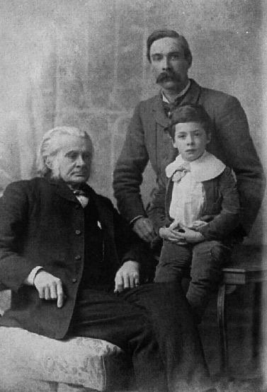 photo of Huxley family