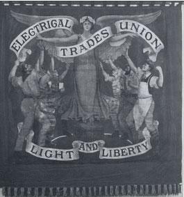 Crane poster for trade union