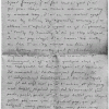 Figure 1: Facsimile of the last page of a letter written from Giuseppe Mazzini to  Carl Schurz (1851)