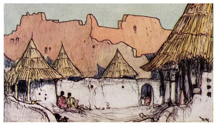 In a West African Village