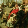 Figure 8: William Powell Frith, The Railway Station (1862, detail)