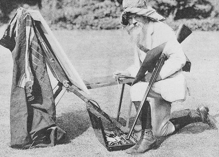 photograph of Holman Hunt
