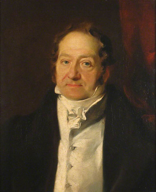 portrait of James Stuart