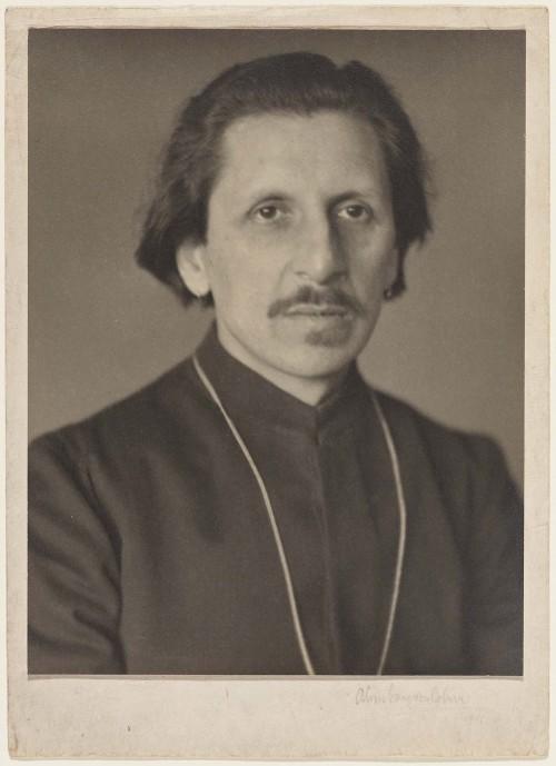 A portrait of Ananda Coomaraswamy